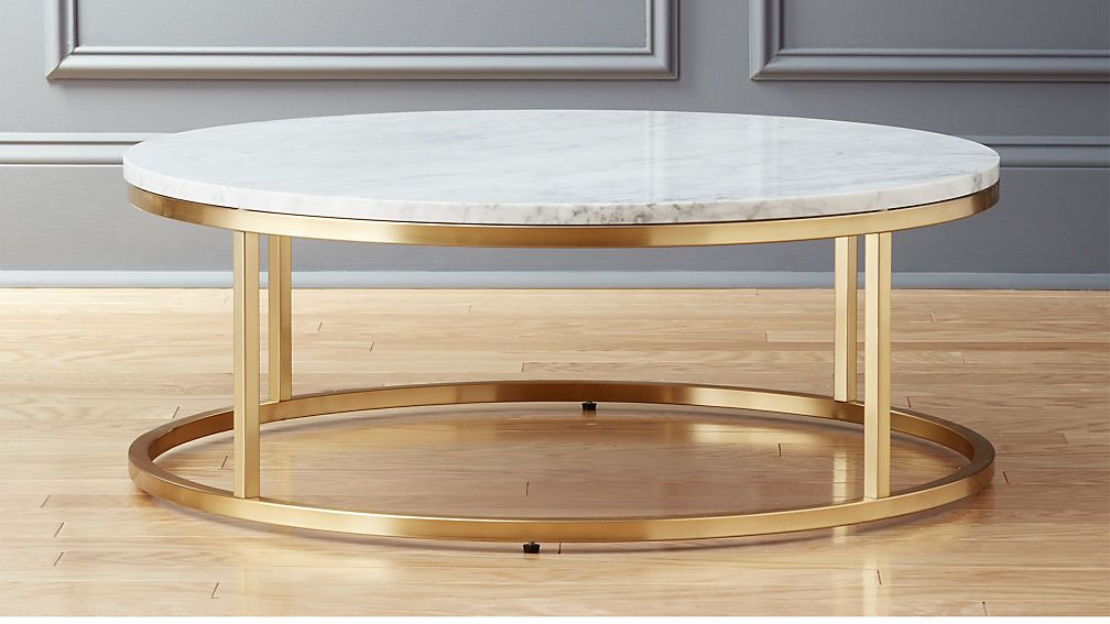 Smart Round Marble Brass Coffee Table Reviews Marble Top Coffee Table Marble Coffee Table Coffee Table