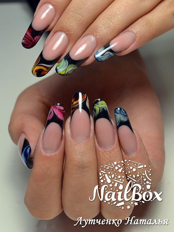 img 1193 | Nägel | Pinterest | Marine nails, Nail nail and Short ...