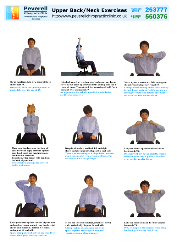 Upper Back And Neck Exercises Performing Upper Back Pain Exercises At Home Can Be An Effective And
