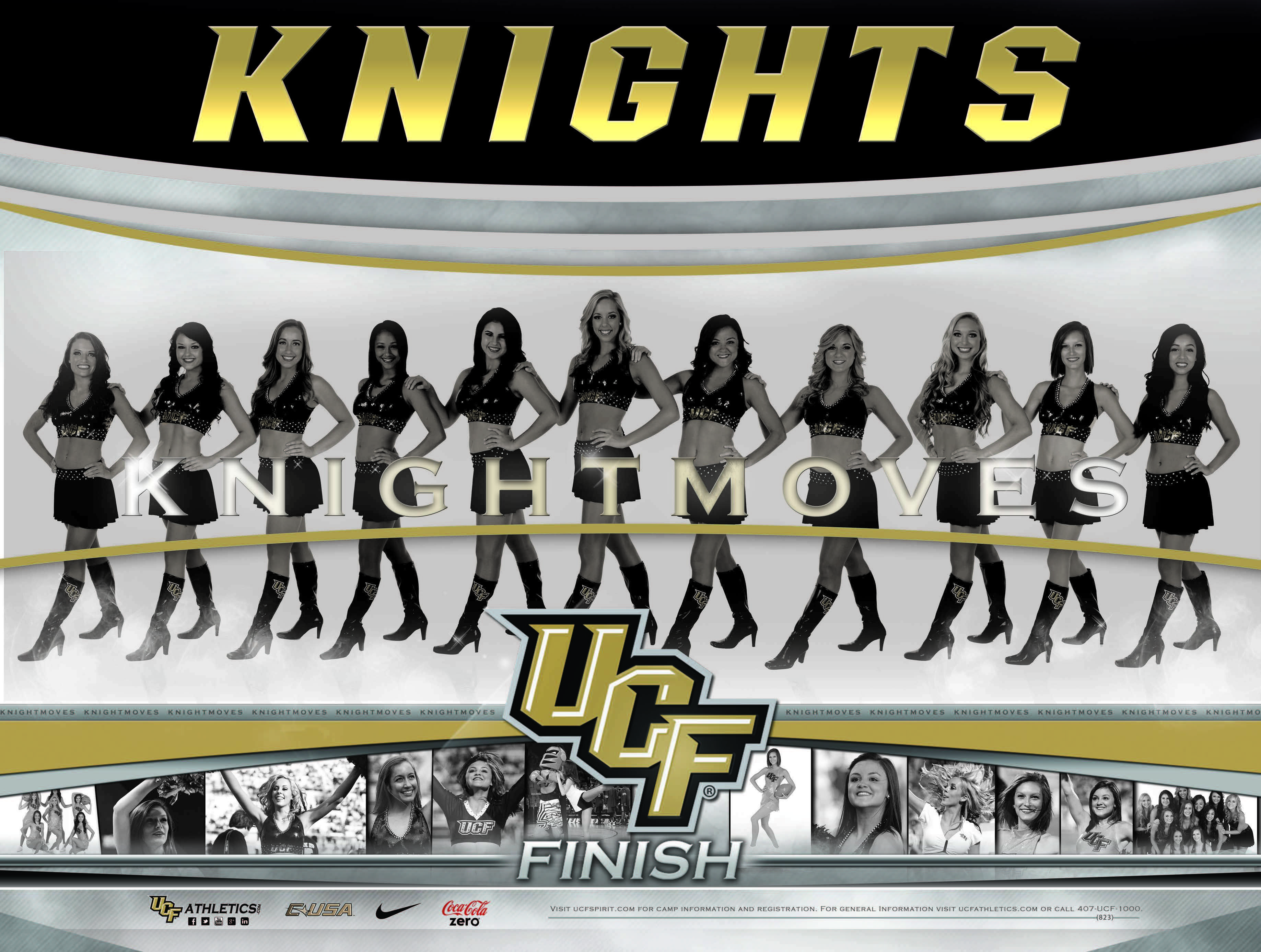 2012 13 Ucf Knightmoves Poster Cheer Poses Team Poster Ideas Team Photos