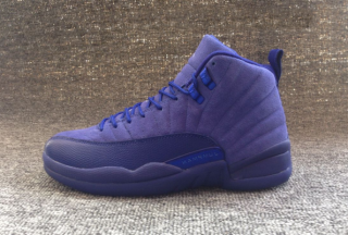 536df311e40ac6 PRE ORDER Nike Air Jordan Retro 12 PREMIUM DEEP ROYAL BLUE 130690 400 Mens…