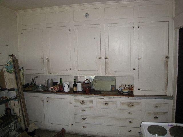 1918 Craftsman Bungalow - Original Kitchen Cabinets