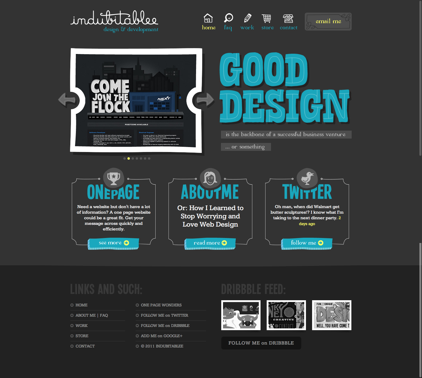 Cool design portfolio website | Web Design | Pinterest | Portfolio ...