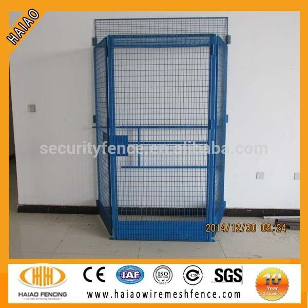 Factory sale welded wire mesh elevator shaft safety gate,edge ...