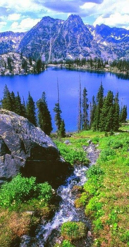 Gilpin Lake, Steamboat Spring Colorado, USA