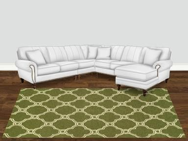 Shop For England Sectional 7130l Sect And Other Living Room