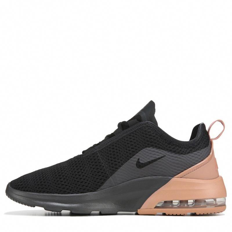 Nike Women's Air Max Motion 2 Sneakers (Black/Rose Gold ...