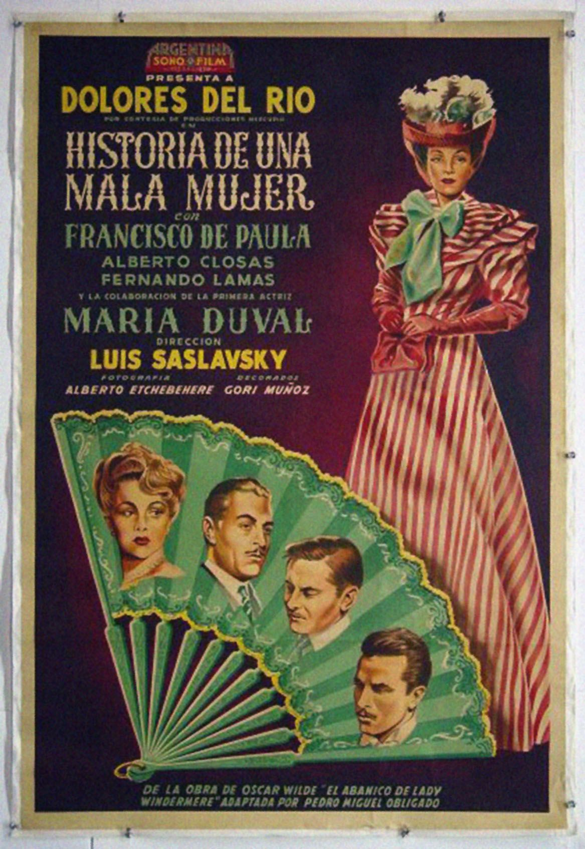 Pelicula Porn Mexicana Clasica 1948 - historia de una mala mujer - luis saslavsky | dolores