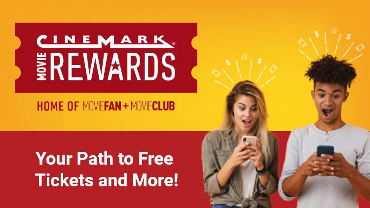 Our Loyalty Program Save With Cinemark Movie Rewards