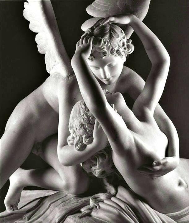 """""""Amore e Psiche"""" - Antonio Canova, (1788 – 1793)   Dettaglio. <3"""