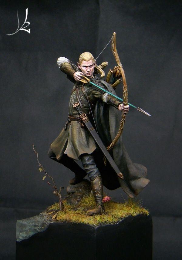 "Legolas (Knight Models) by David ""Karaikal"" Rodriguez ..."