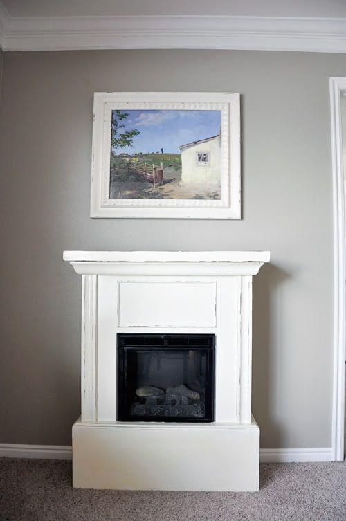 Electric Fireplace Before And After U2013 DIY At The Wright House!  Small Electric Fireplaces