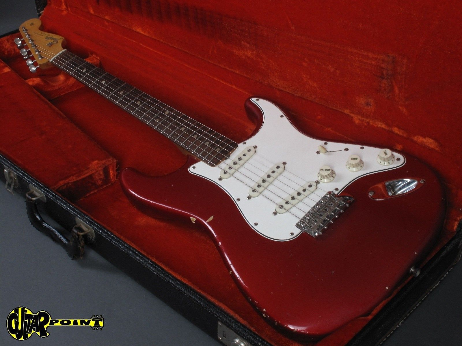 Fender Stratocaster 1965 Candy Apple Red | Reverb