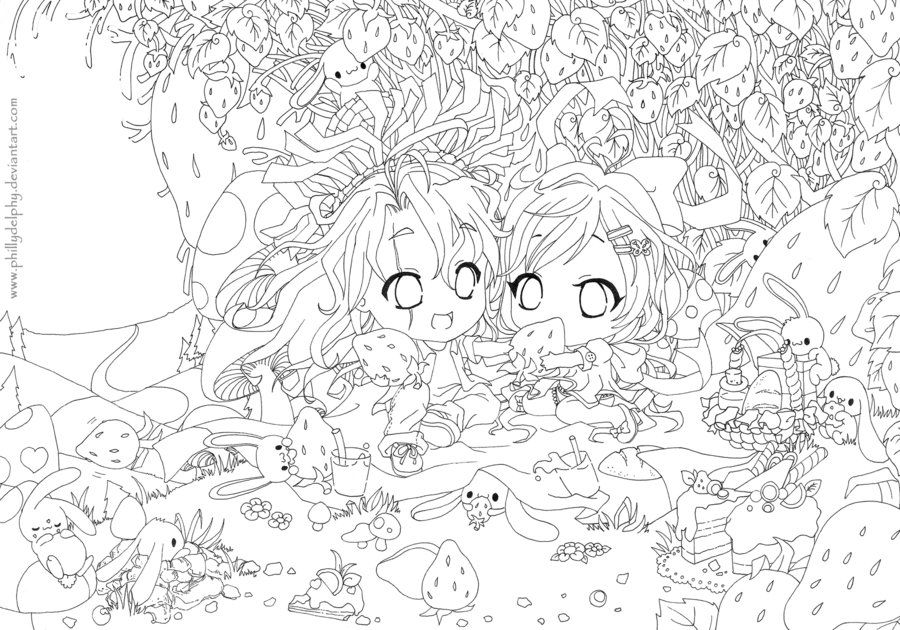 coloring pages of fields | Color me: Strawberry Fields lineart by phillydelphy ...