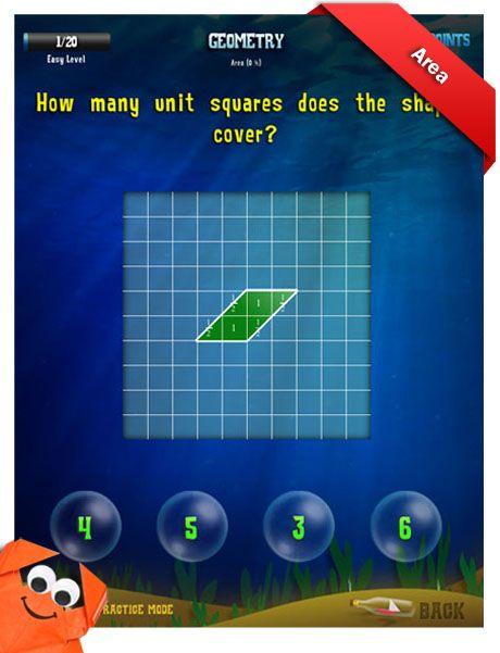 Third Grade Math Apps - Geometry - Quadrilaterals Worksheet | iPads ...
