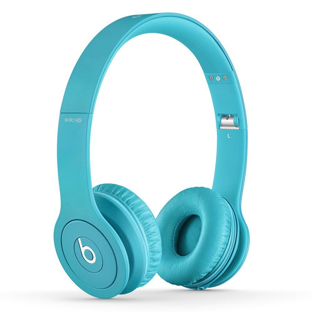 Beats By Dre Light Blue Beats Solo HD Headphon...
