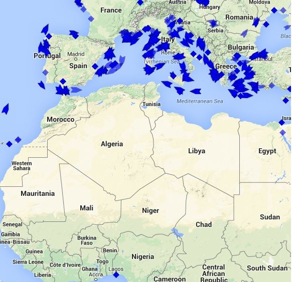 Mediterranean Cruise Ship Tracker Includes Carnival Cruise Lines - Royal caribbean ship tracker