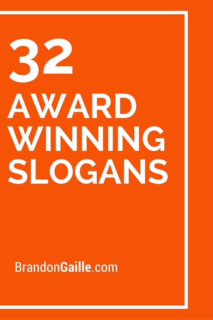 Furniture advertising slogans - Advertising Strategies 32 Award Winning Slogans