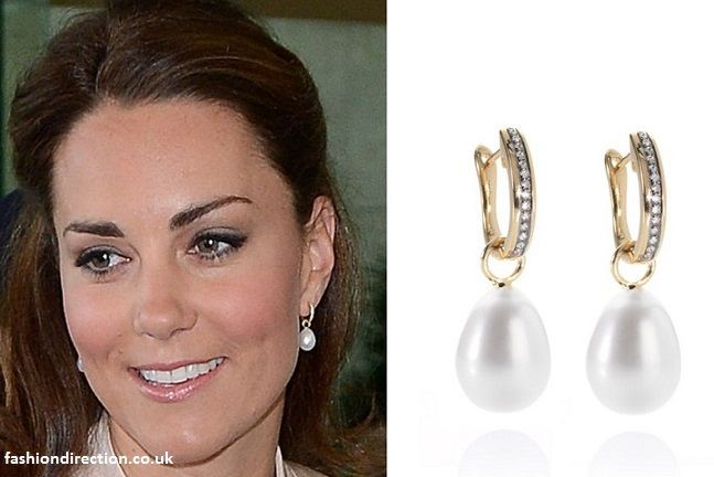 Kate Middleton Ss Of Cambridge Annoushka Favourites Pearl Earrings