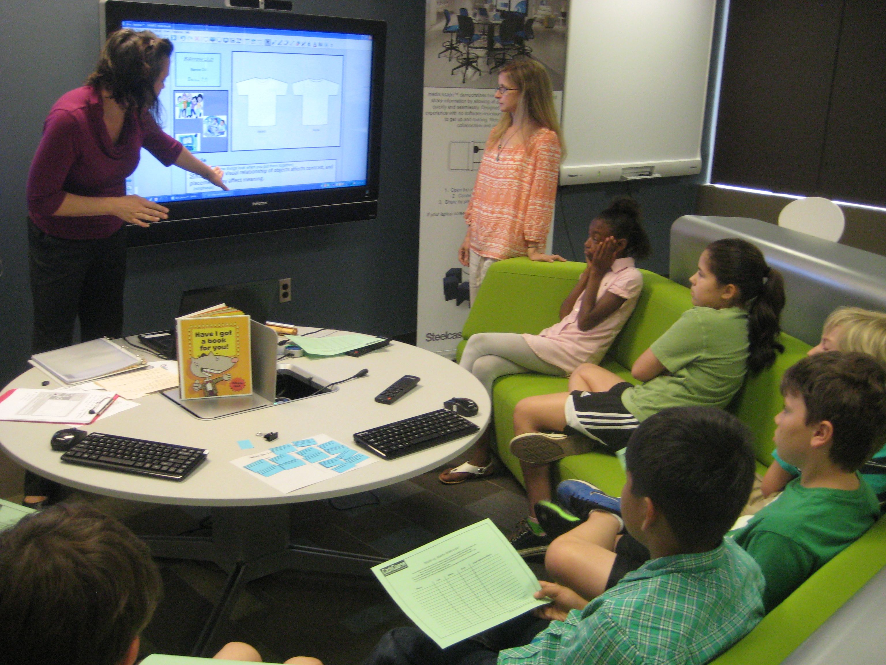 Modern Classroom Google : St century learning a visit to the ga doe center for