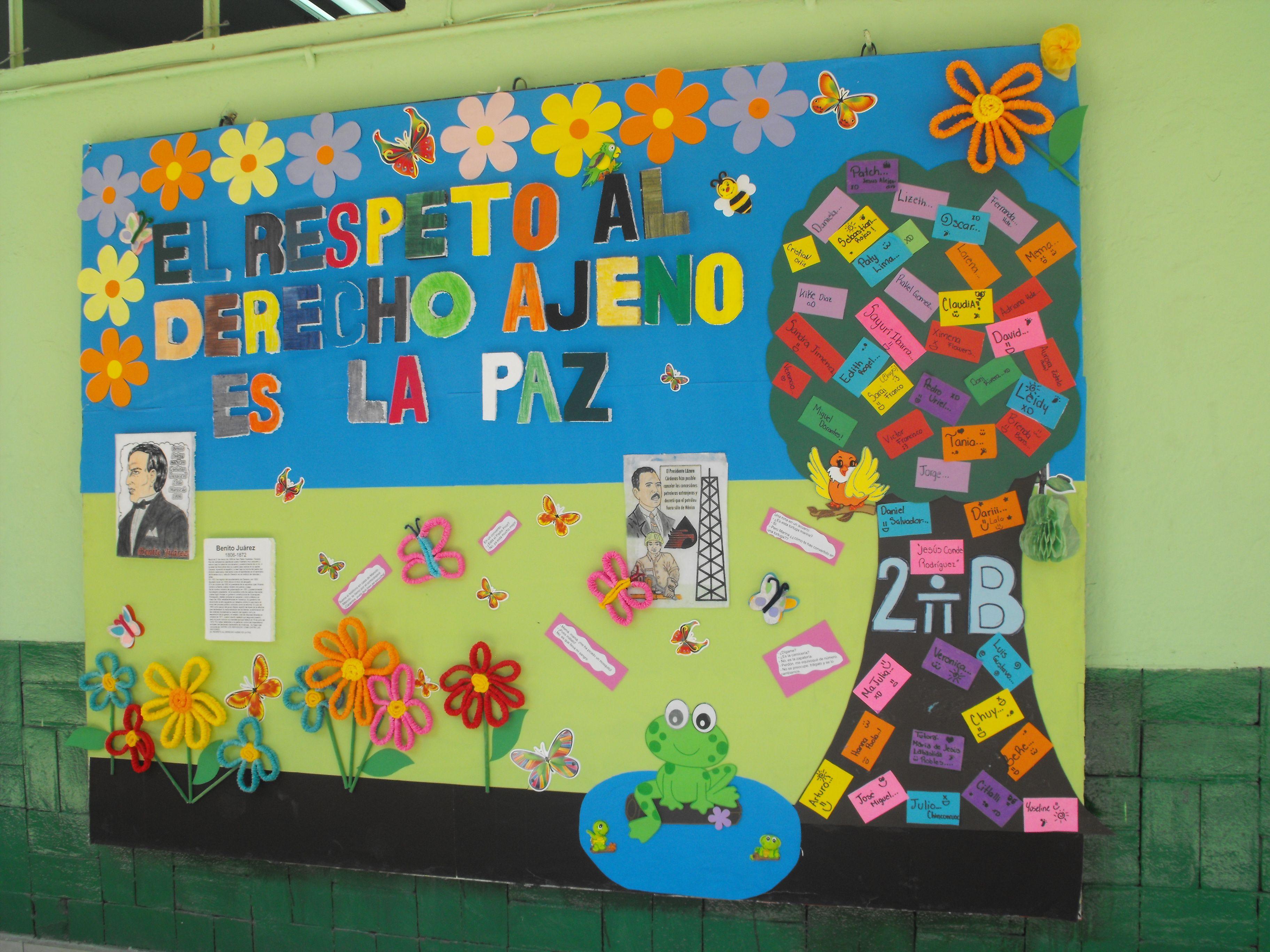 Periodico mural de abril buscar con google educa for El periodico mural