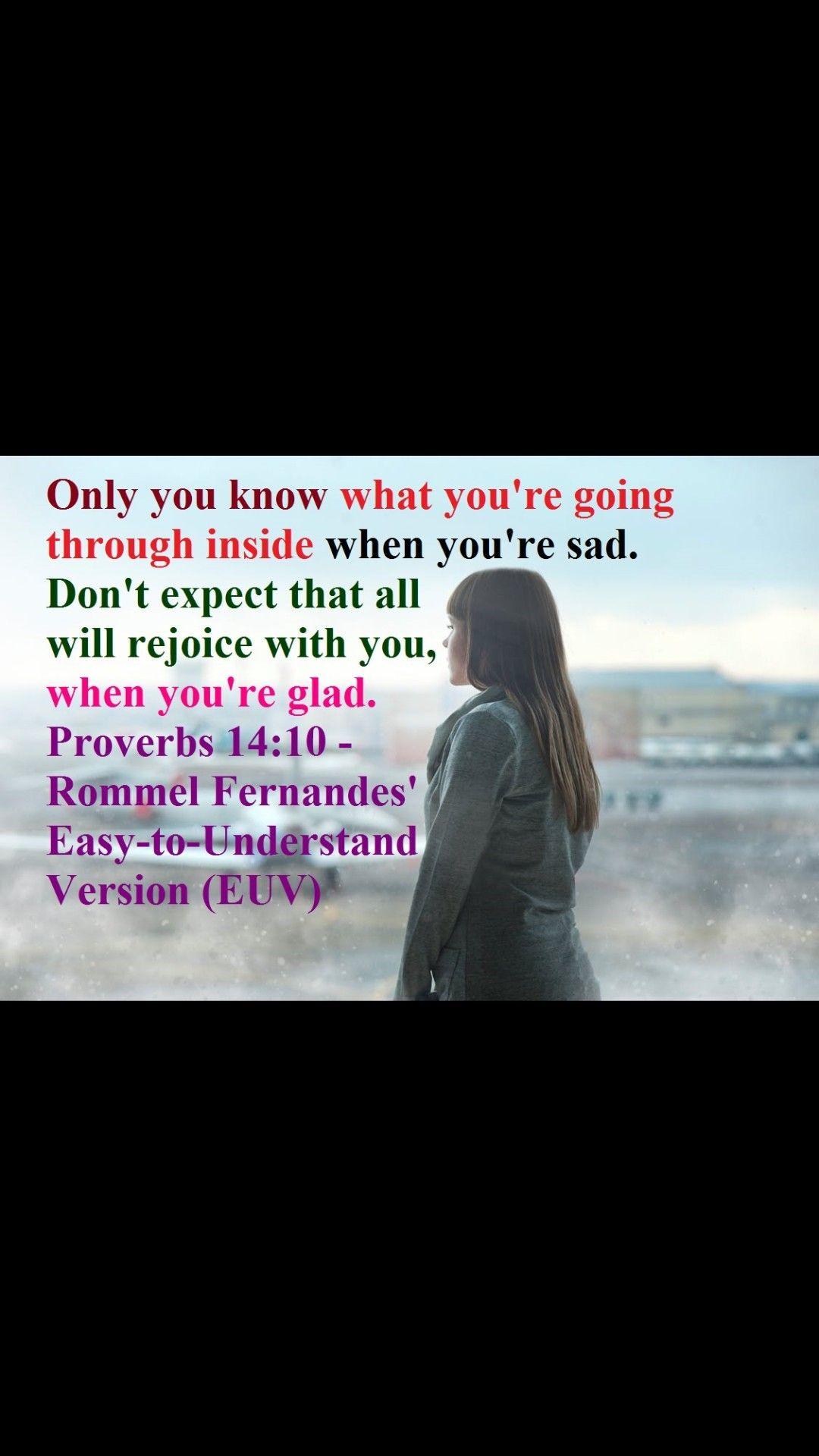 Proverb 14 10 Bible Knowledge Paraphrase Prov 19