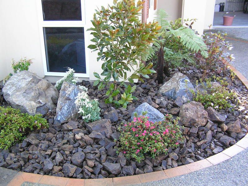 images about rock garden on, Landscaping/