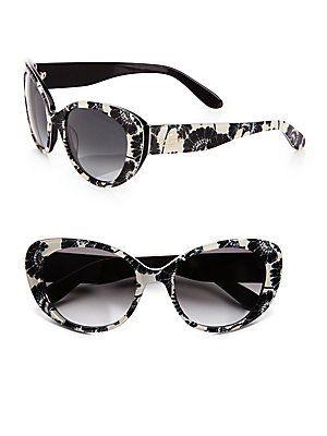 6e45351254 Kate Spade Women`s Franc2S Cat Eye Sunglasses  79.95