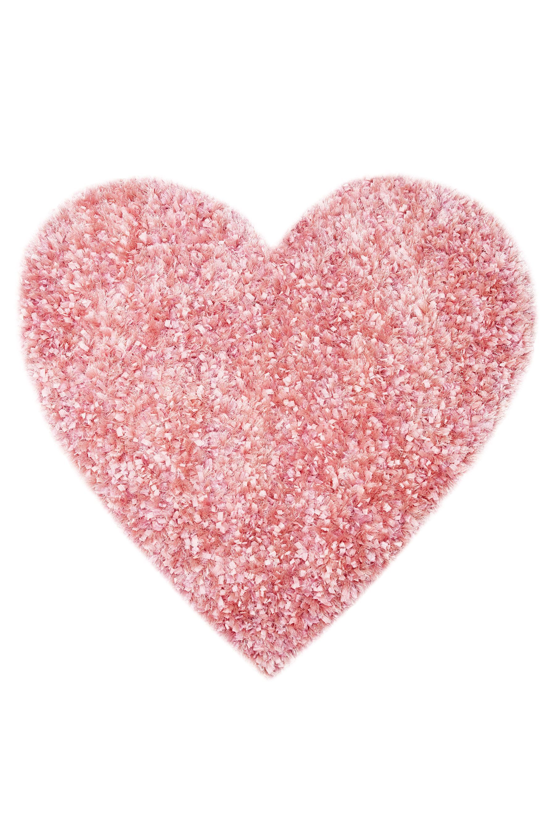 Pink Sparkle Heart Rug From The Next Uk Online