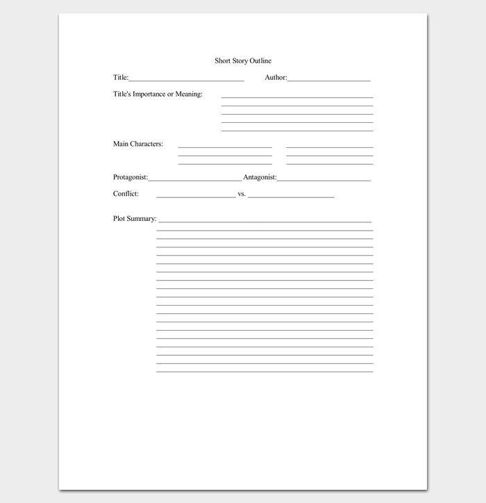 Short essay outline