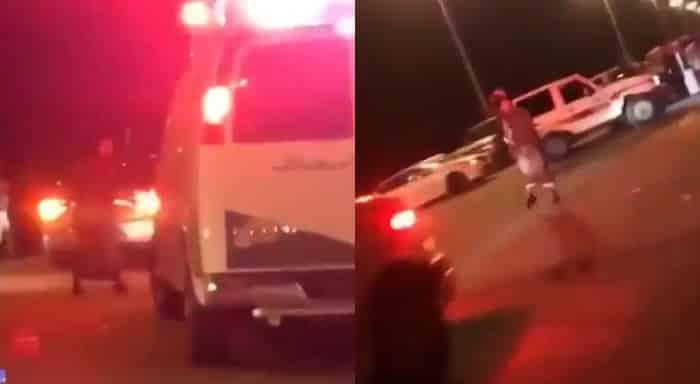 فيديو تريند شاب سعودي يرقص أمام سيارة إسعاف لمنعها من العبور Mada Post مدى بوست 2020