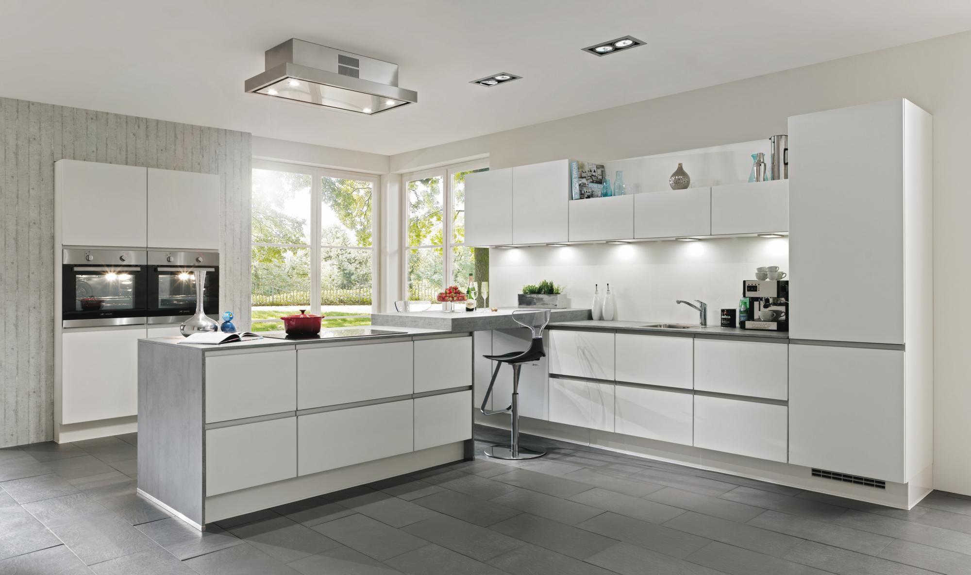 Kitchen. Accentuate White Aluminium Composite Kitchen Island White ...