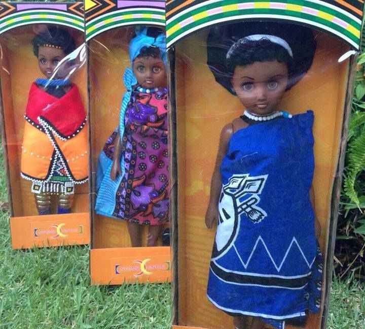 African dolls. They are called Ntomb'entle dolls meaning beautiful girl. Its about damn time!!! Thank you Molemo Khomo and Mpumi Motsabi.
