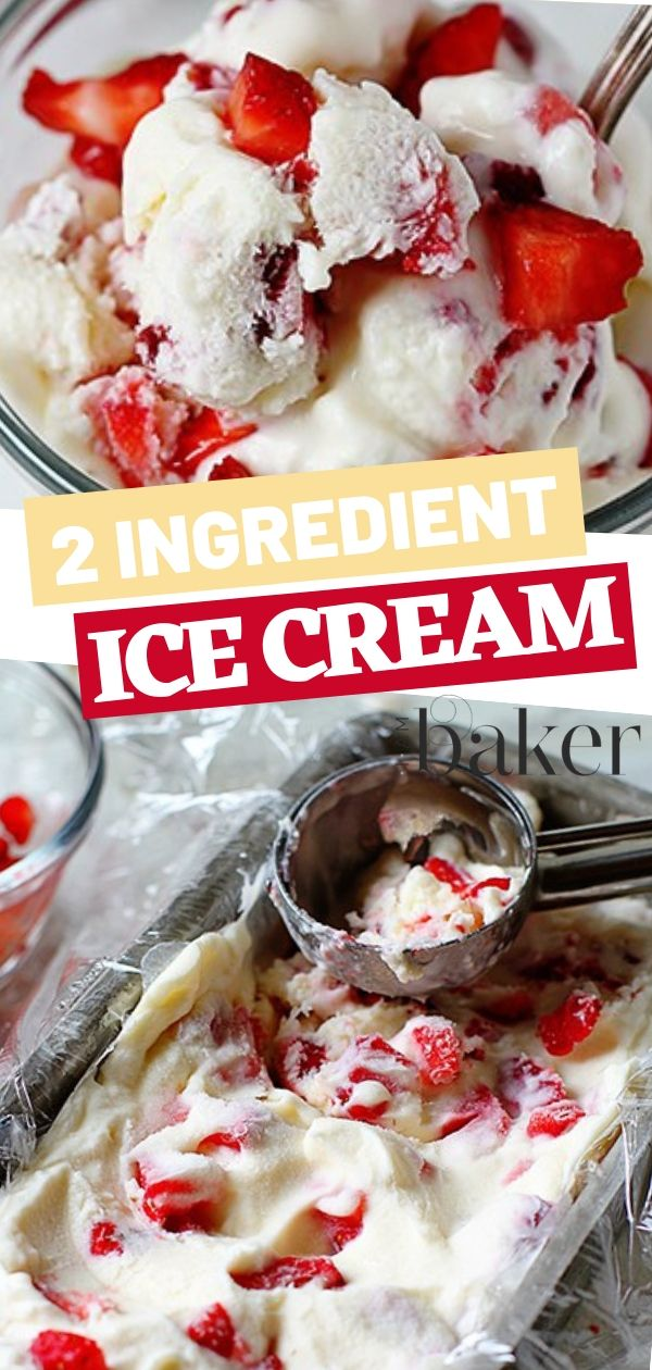 Two Ingredient Ice Cream Dessert Recipes Easy Recipes Using Whipping Cream Recipes With Whipping Cream