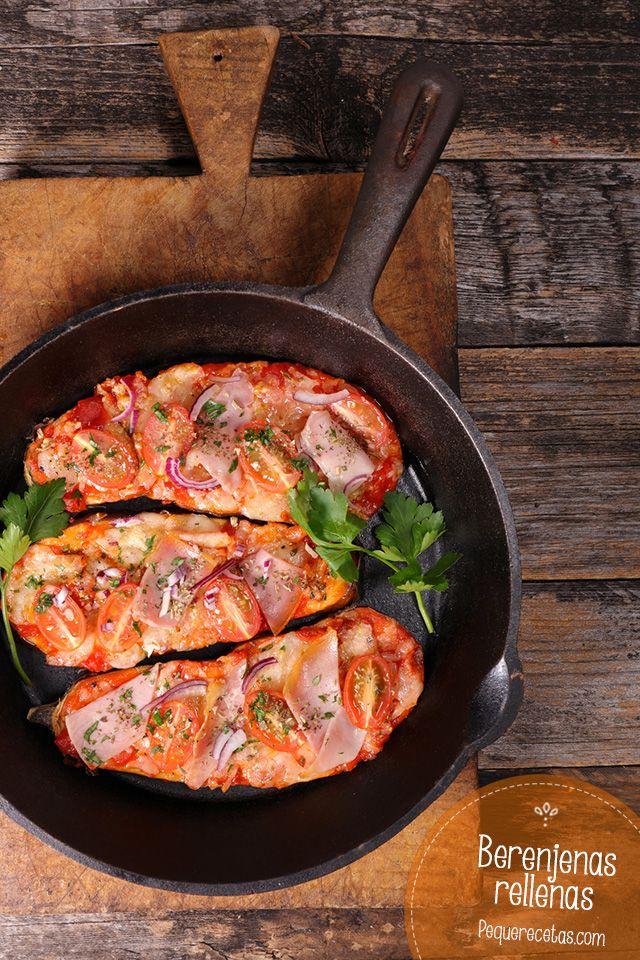 receta de berenjenas rellenas al horno
