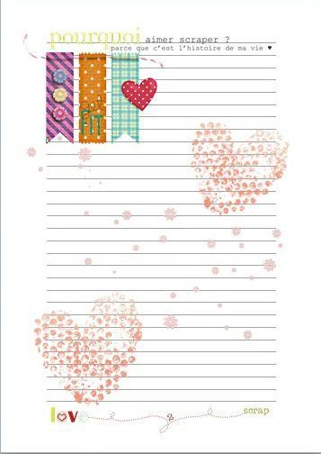 Páginas agenda | Hojas | Pinterest | Imprimibles, Hojas decoradas y ...