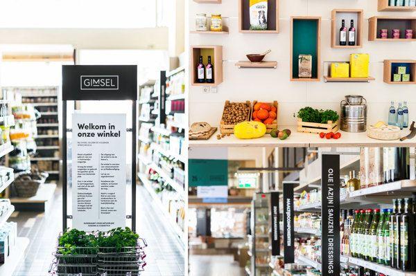 Gimsel, Organic Supermarket by Studio Beige, via Behance