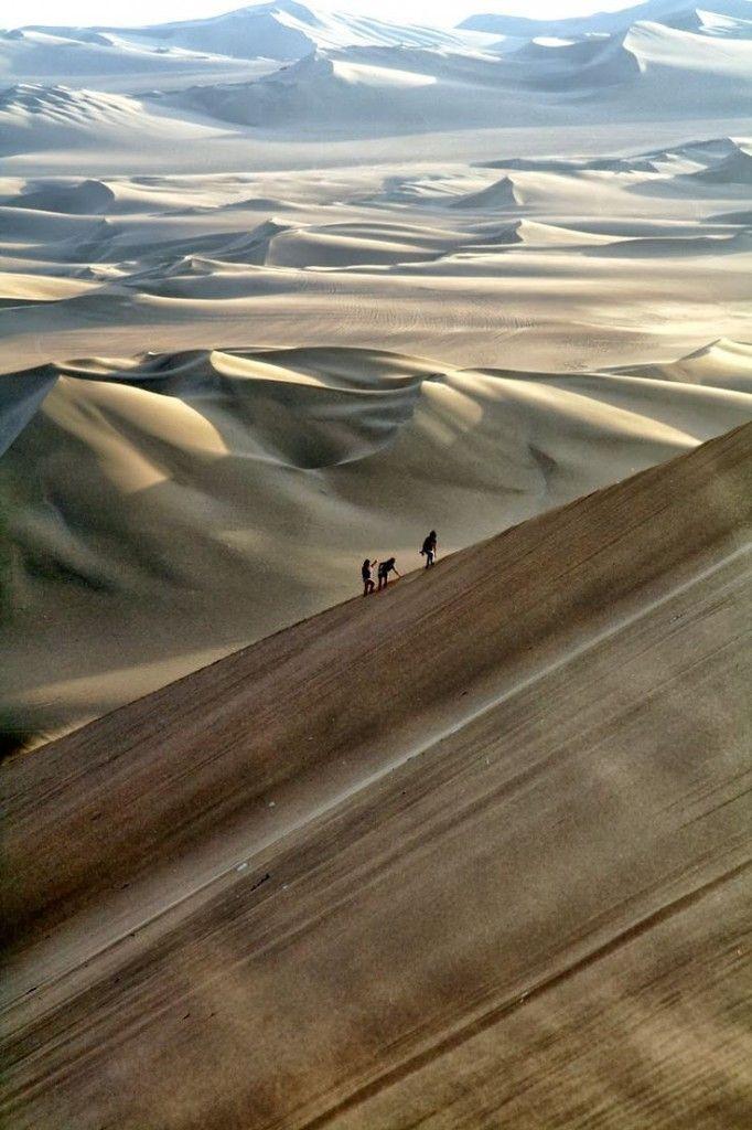 El desierto de Nazca, Perú. #viajar #turismo