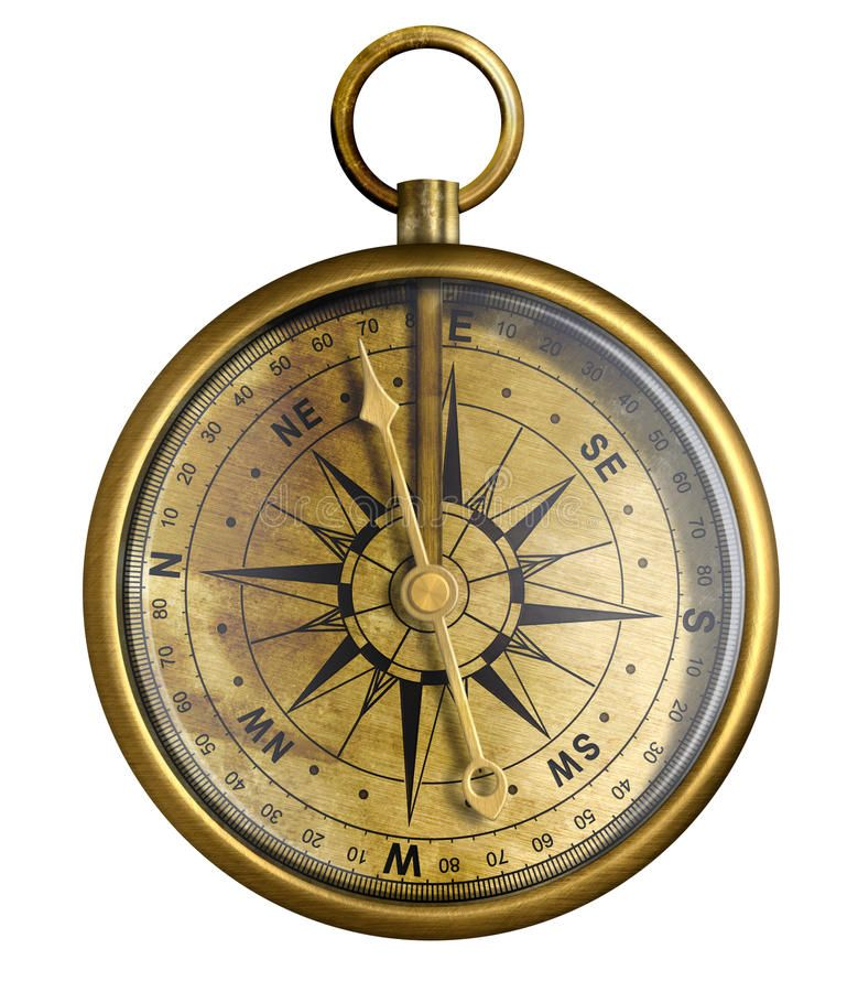 Old Brass Or Antique Bronze Compass Isolated Brass Antique Compass Isolated On Sponsored Bronze A Vintage Compass Vintage Compass Tattoo Compass Tattoo