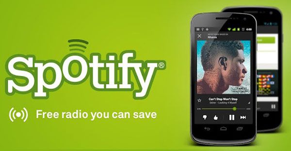 Spotify for Android app gets free radio streaming, only for