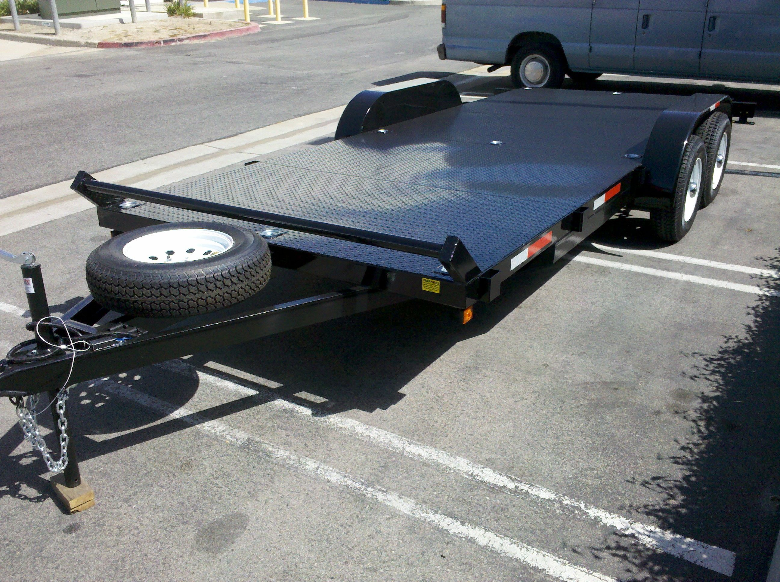 10 best Flatbed Vehicle Hauling Trailers and Car Carriers images on ...
