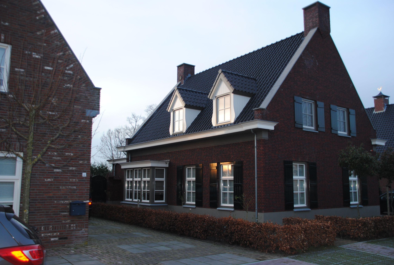 Stunning nieuwbouw vrijstaande woning in landhuis stijl for Bouwkosten huis