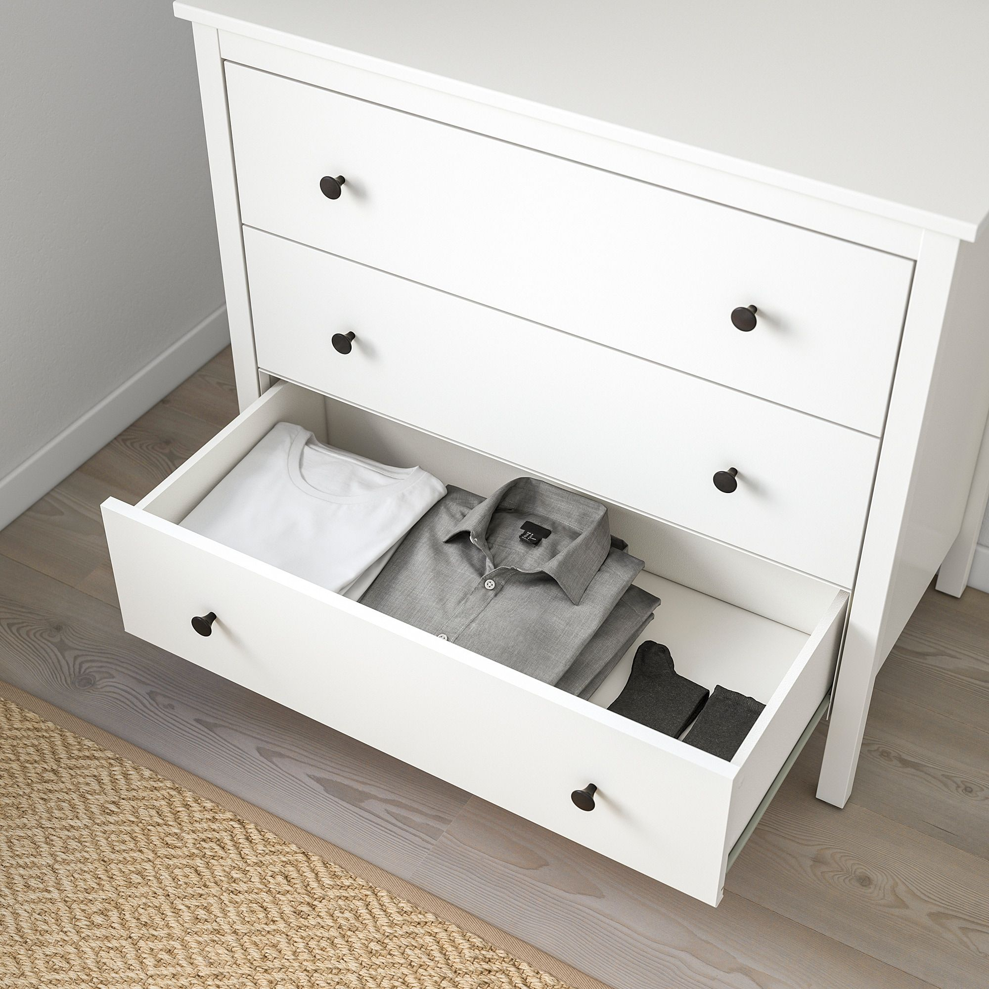 the latest 42261 3efcf IKEA - KOPPANG 3-drawer chest white | Piso in 2019 | White ...
