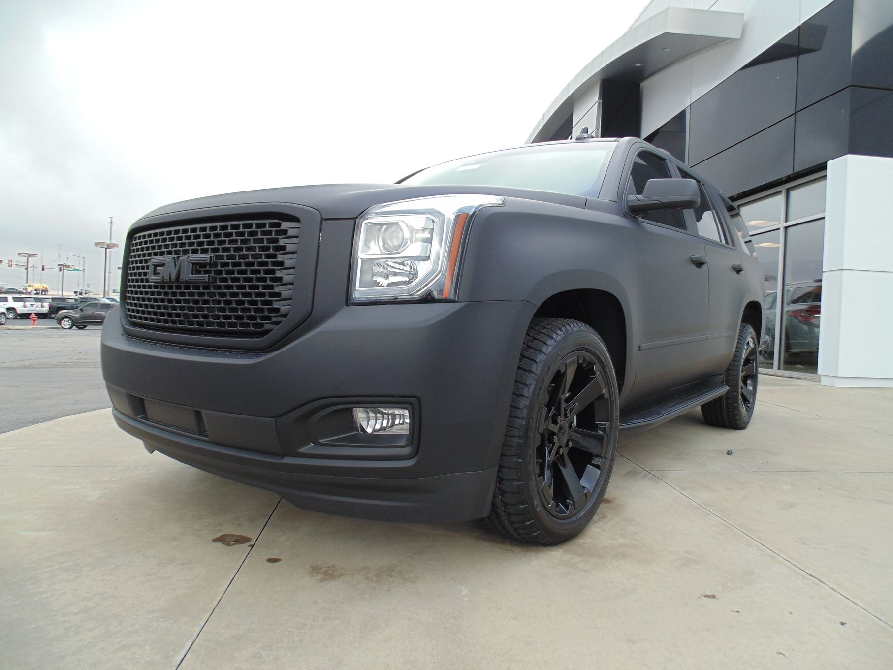 For Those Of You Who Are Fans Of Matte Black We Have The Yukon For You 2017 Gmc Yukon Denali Black Diamond Editio Yukon Denali Gmc Yukon Gmc Yukon Denali