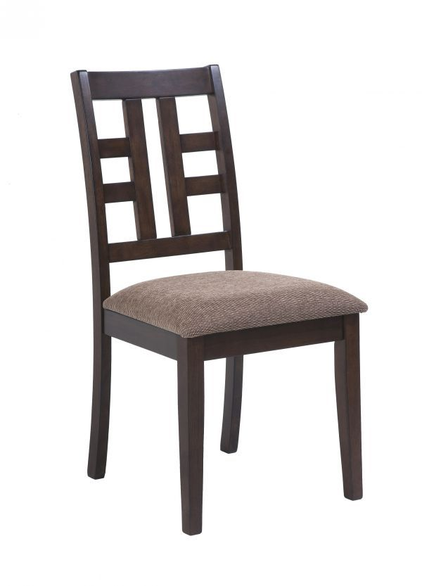 Capri Upholstered Side Chair Just Cabinets Furniture More The