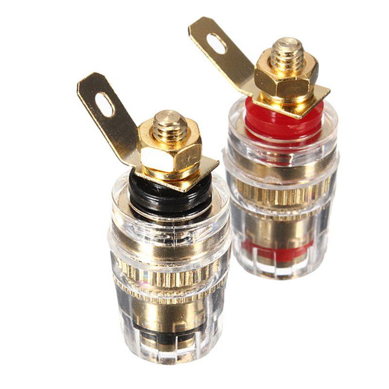 Best Promotion 2Pcs Amplifier Speaker Terminal Binding