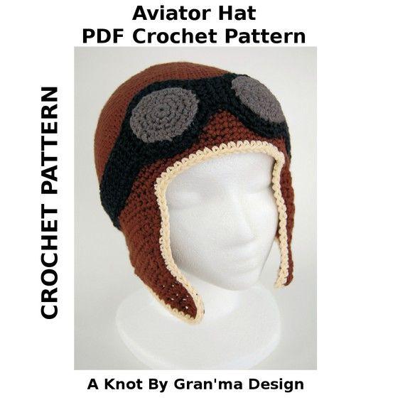 Crochet Pattern, Winter Hat Pattern, Crochet Hat Patterns, Kids Hat ...