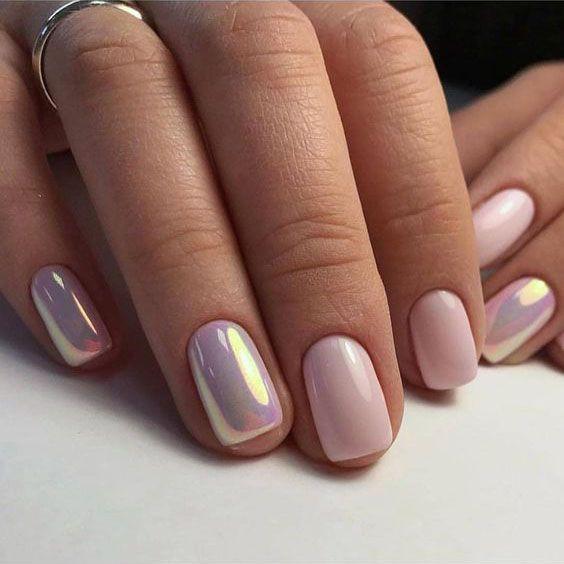 56 Classy Skin Color Nail Art Designs #nailart