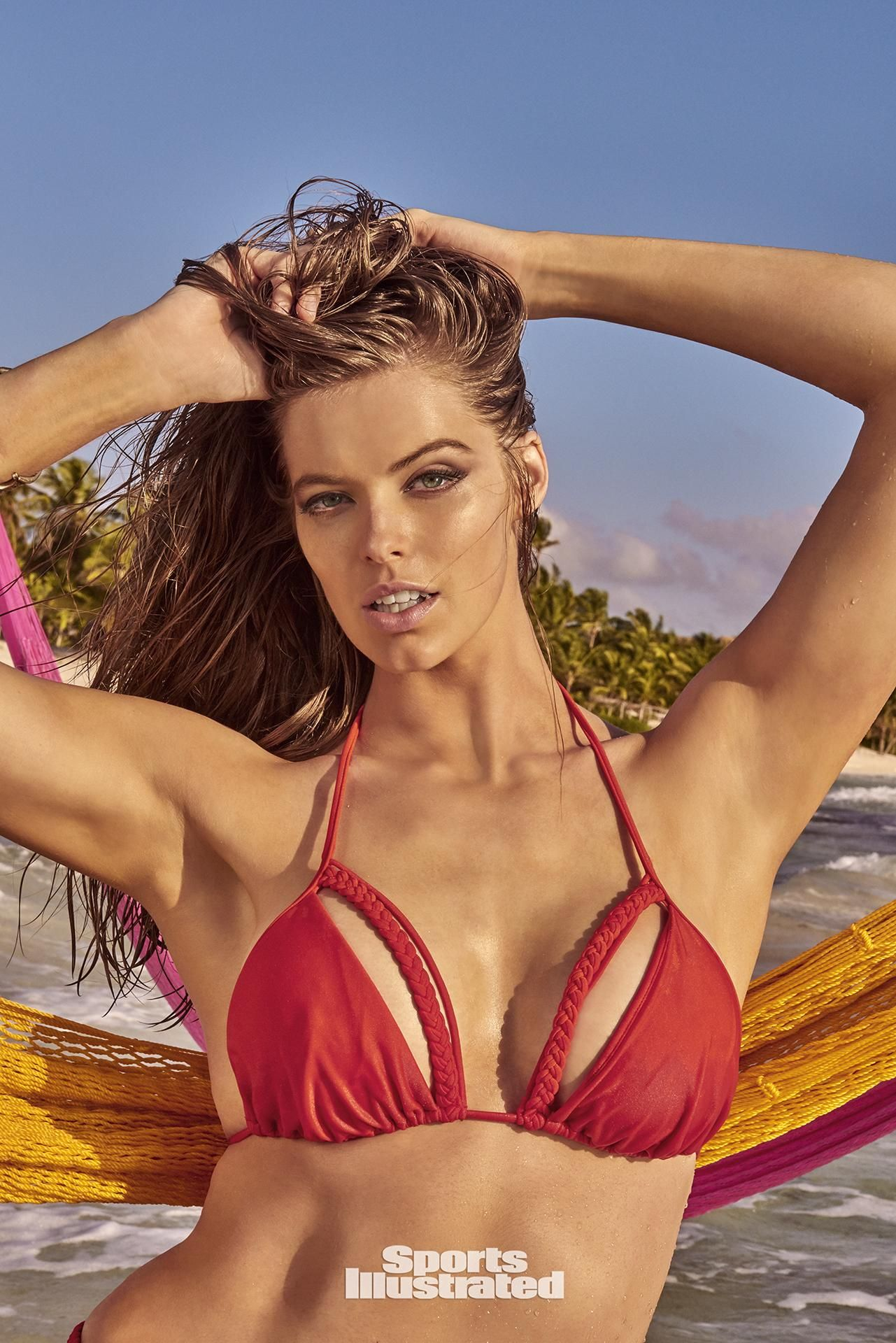 a5516f3e94d8c Robyn Lawley was photographed by Ruven Afanador in Mexico. Swimsuit by Luli  Fama