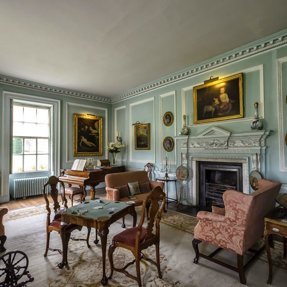 Melford Hall | Drawing room | Pinterest | Hall, Georgian and Interiors